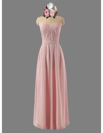Awesome sweetheart pink bridesmaid dresses SB-050