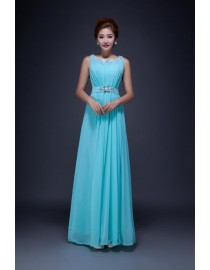 Tiffany blue halter bridesmaid dresses SB-144