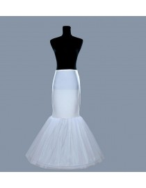 Mermaid fishtail Wedding dresses petticoat/underskirt WP-006