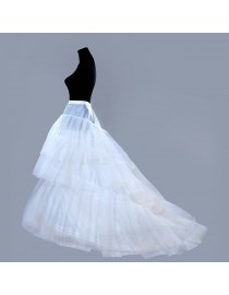Wedding dresses train petticoat/underskirt WP-010