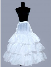 Wedding dresses train petticoat/underskirt WP-011