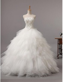 2014 corset catching fire basque srapless floor length wedding dresses with lace appliques and rhinestones beadingTB-013